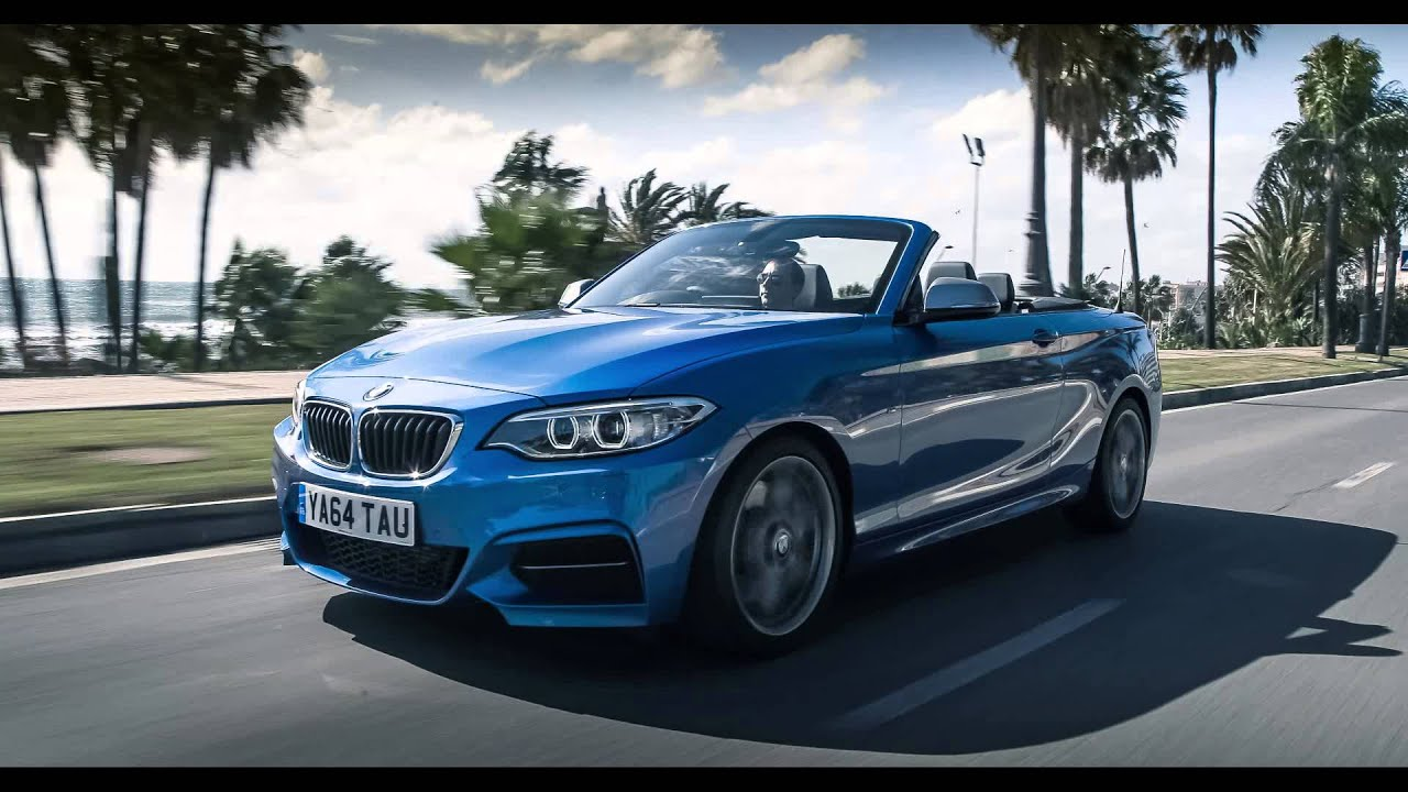 bmw m235i cabrio 2015 2er f23 in estorilblau youtube. Black Bedroom Furniture Sets. Home Design Ideas