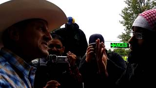 Cowboy Preacher & Man of God - Encourage Br-Zakariya - Speakers Corner Hyde Park London 10-9-17.