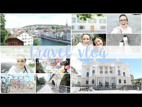 48 Hours In Zurich, Switzerland! | Becca Rose Travel Vlog