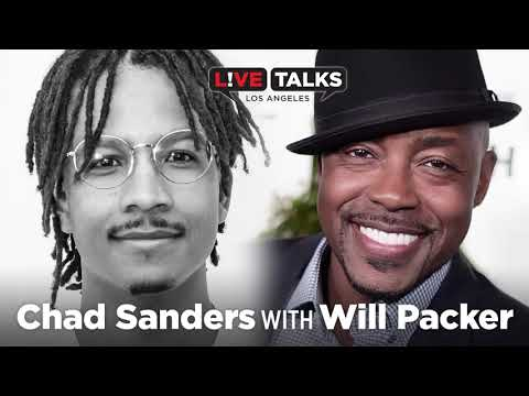Chad Sanders in conversation with Will Packer at Live Talks Los Angeles
