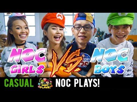 NOC Plays Mario Kart 8 (Girls vs Boys)