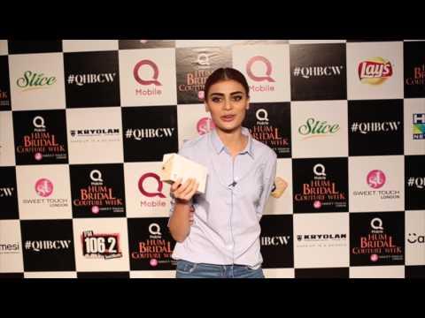 QMobile M6 Video Bite | Sadaf Kanwal