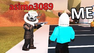 ASIMO3089 SHOWS ME THE NEW JAILBREAK UPDATE! (Roblox)