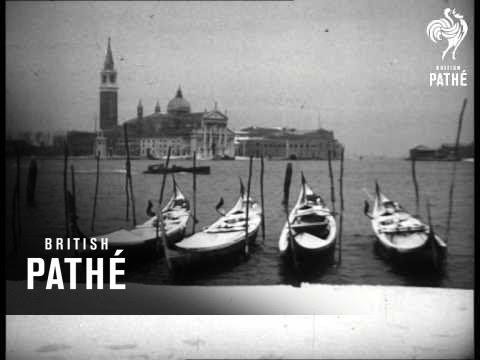 Snow Blankets Venice (1947)