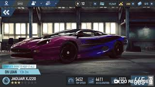 Mobil Balap NFS ( Need For Speed ) No Limits - JAGUAR XJ220