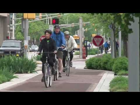 The Indianapolis Cultural Trail: The Next-Gen in U.S. Protected Bike Lanes