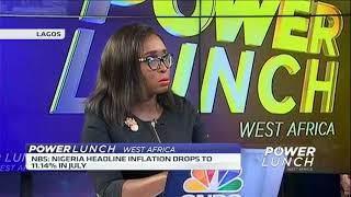 Nigeria's headline inflation drops further