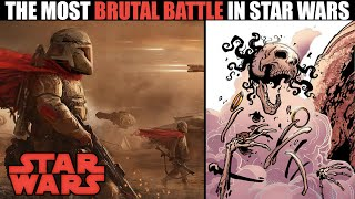 The MOST BRUTAL Battle in Star Wars History (...and the destruction of the Sith)