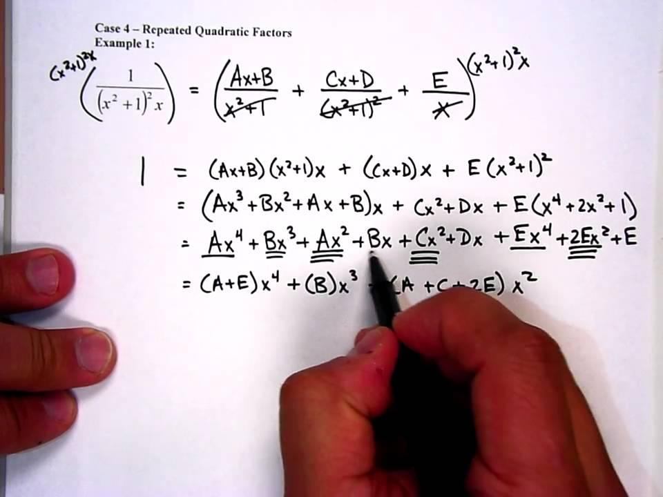 Integration Partial Fractions Problems Solutions integration – Partial Fractions Worksheet