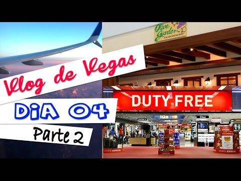 Vlog de Las Vegas - Dia 4 (parte 2) | No avião, Duty Free, Olive Garden e enfim Casa
