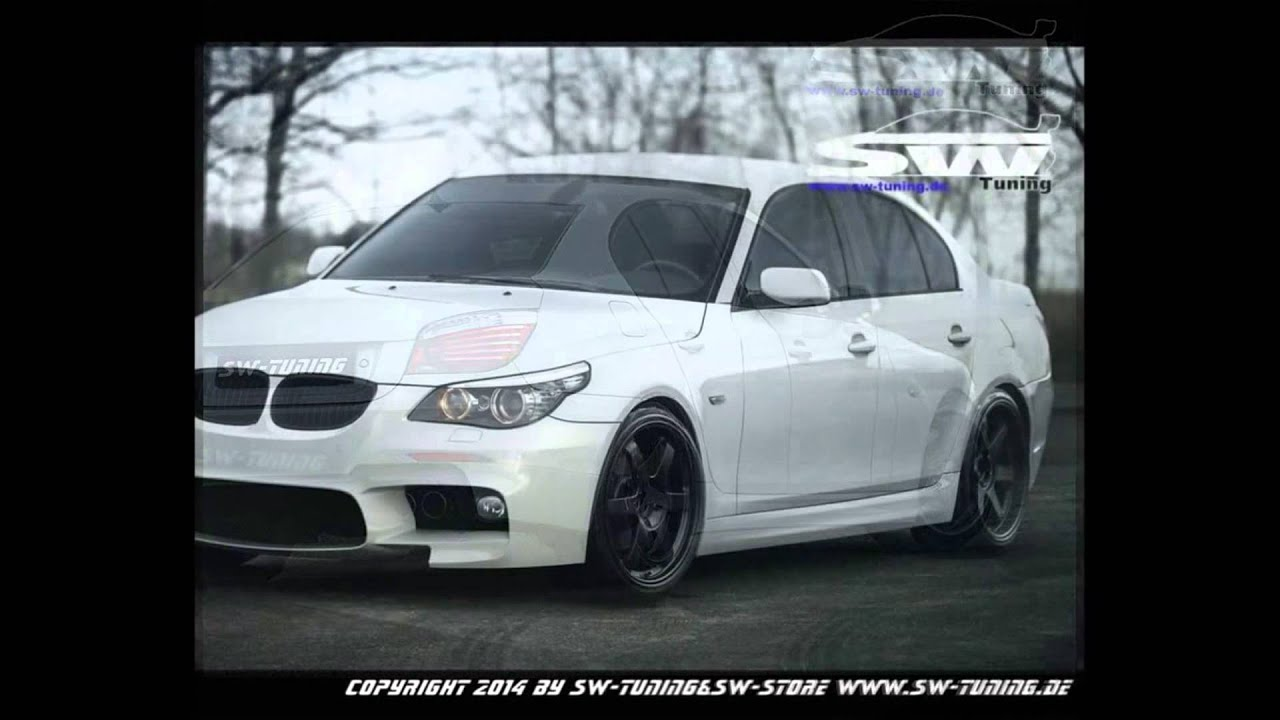 bodykit swf10 look f r 5er bmw e60 by sw tuning youtube. Black Bedroom Furniture Sets. Home Design Ideas