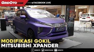 Intip Modifikasi Eksterior Mitsubishi Xpander Berwarna Ungu