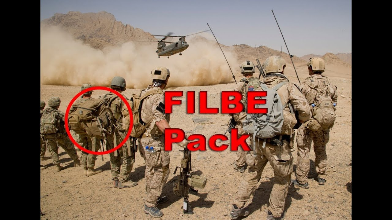 USMC FILBE PACK - Preview - The Outdoor Gear Review - YouTube