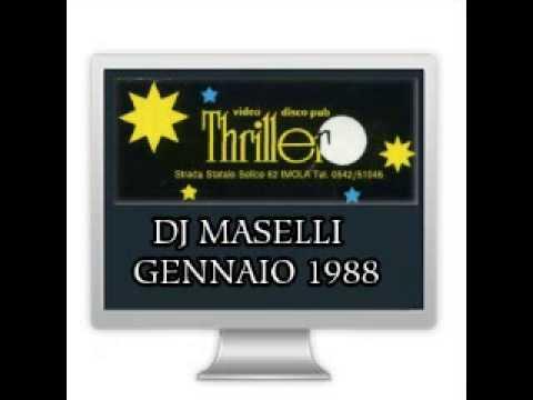 THRILLER   DJ MASELLI   GENNAIO 1987