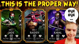 MK Mobile. Proper Good Bye to Gold MK11 Team. THIS IS HOW YOU PLAY IT! Insane Glitch Happened!