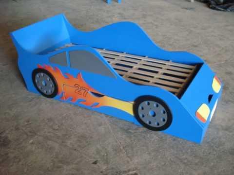 Cama carro youtube - Camas infantiles de cars ...