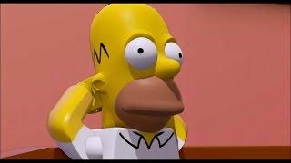 Lego Dimensions - I Simpsons dlc - Tutti i filmati in italiano