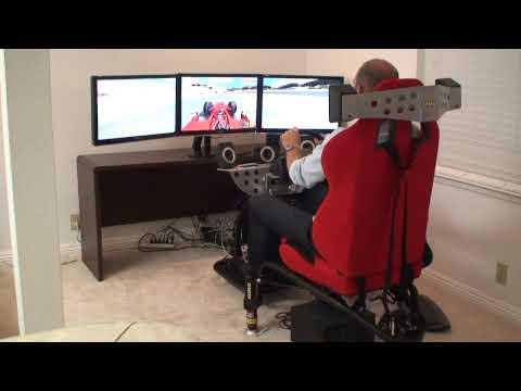 Laguna Seca D-BOX Racing Simulator
