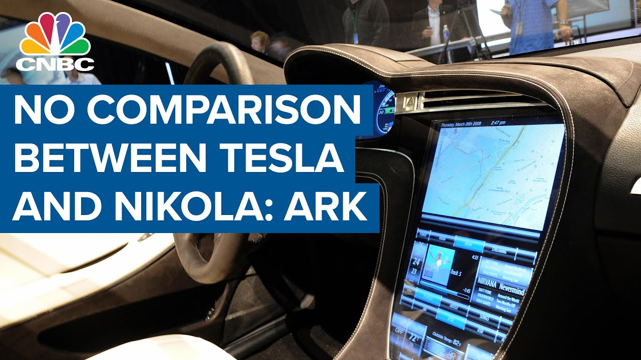 There's just no comparison between Tesla and Nikola: ARK Invest CEO