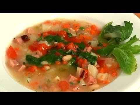 Ham, Bean & Potato Soup Recipe : Easy Recipes