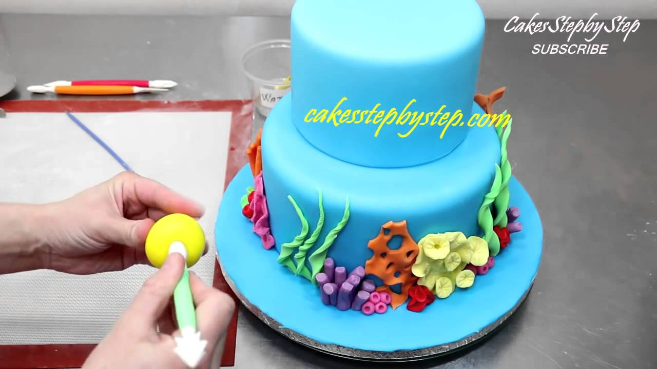 How To Make Finding Nemo Dory Cake YouTube