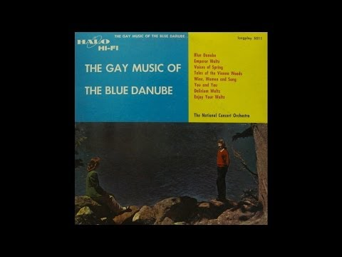 The National Concert Orchestra: The Gay Music Of Blue Danube (Halo Records)