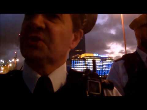 police stop me for filming ITV studios