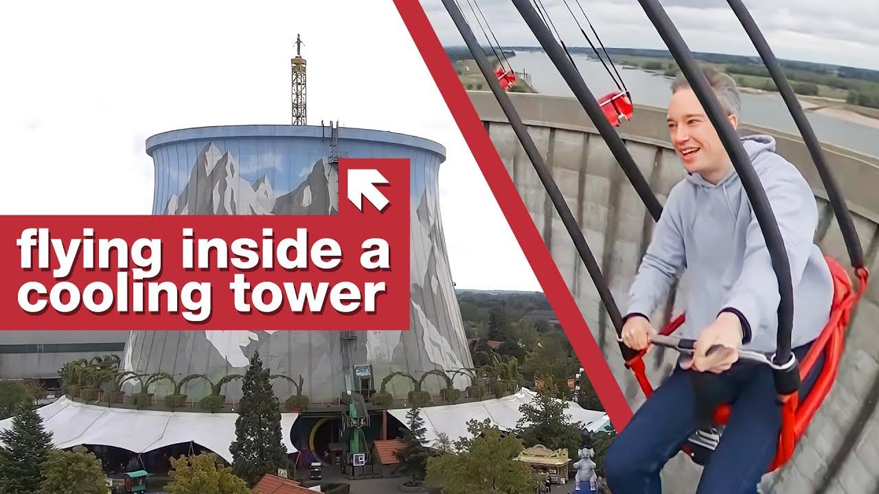 The Theme Park Inside An Old Nuclear Power Plant