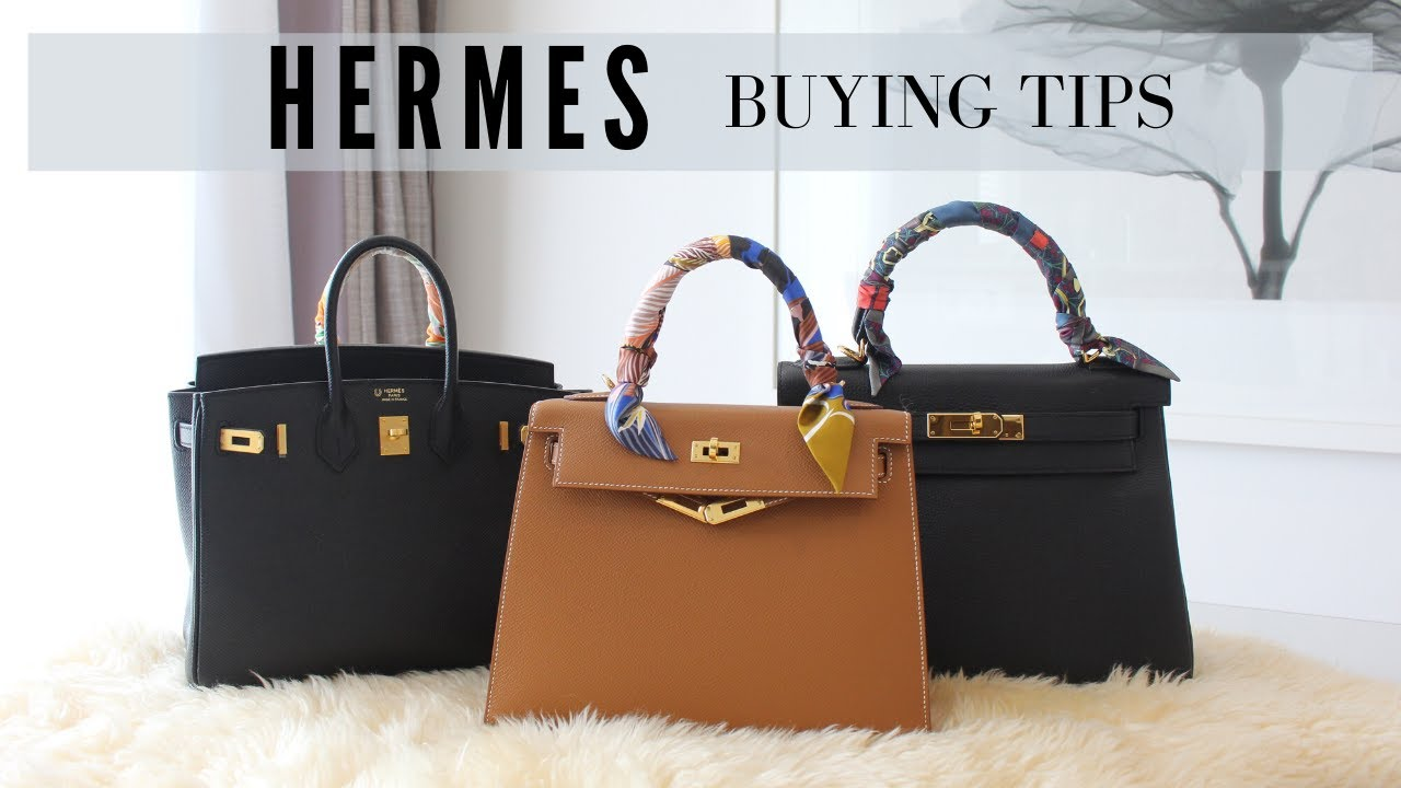Hermes Buying Tips. How to get a Birkin or Kelly bag from the store.