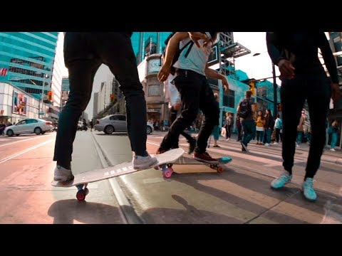 EXPLORING TORONTO ON LONGBOARDS