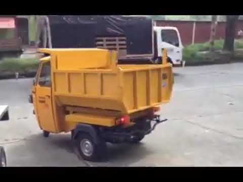 3 Wheeler Ape Goods Auto With Tipper Body Youtube