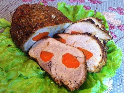 Буженина из Свинины/Буженина По Домашнему/Roasted Meat/Простой Пошаговый Рецепт