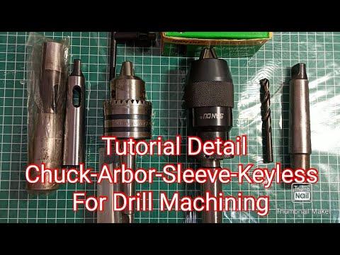 Download Tutorial Lengkap Chuck-Arbor-Sleeve-Keyless Drill Press
