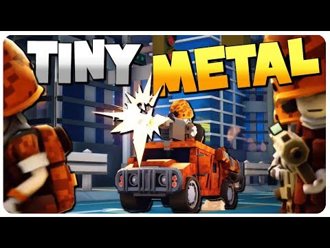 NEW MILITARY STRATEGY Game, ADVANCE WARS In HD! | Tiny Metal Gameplay