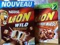 Céréales Nestlé LION Wild - Produit Français.