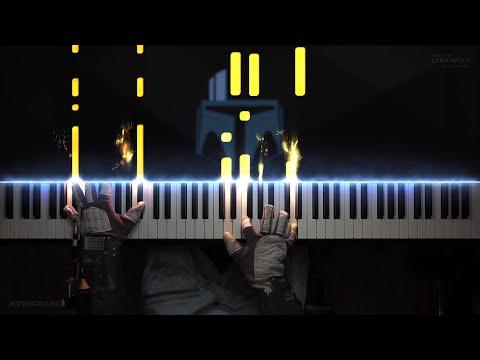 The Mandalorian - STAR WARS (Piano Cover) [Intermediate]
