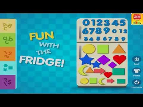 ABC & 123 Magnets Game kids