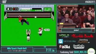 Awesome Games Done Quick 2015 - Part 128 - Mike Tyson's Punch-Out!! by sinister1
