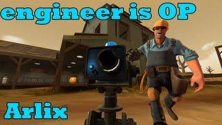 TF2: Mini Sentry Engineer is OP