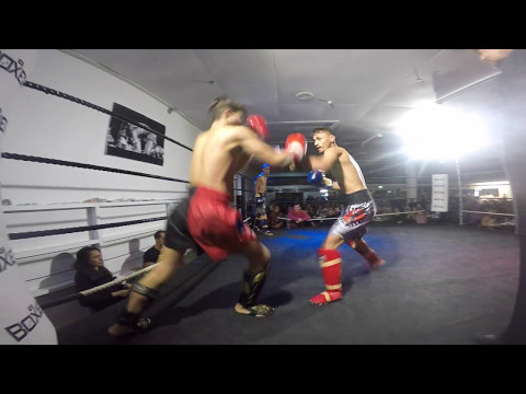Very Tough & Exciting 4 Fighter Tag Team @ Tihipuke Muaythai Gym - 06/05/2017