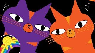 Dancing Cats | Baby Sensory | Calming Music