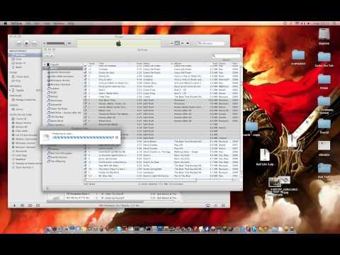 Tuto DeTunes : transférer toutes les musiques de votre iPod sur votre mac/pc