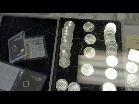 A guided tour of our coin store in Tampa FL - A Village Stamp & Coin