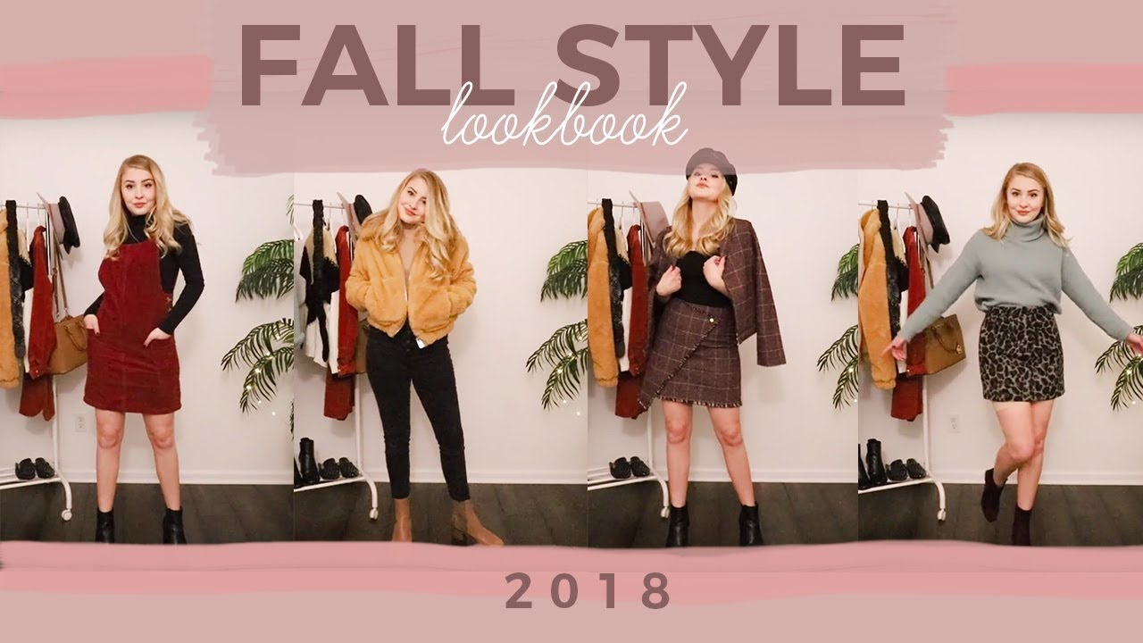 Fall Style Lookbook 2018   Maddy Corbin