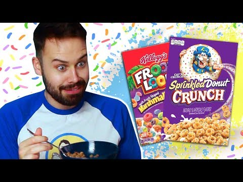 Irish People Try New American Cereals