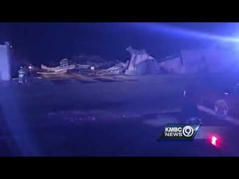 Johnson County Executive Airport suffers heavy storm damage
