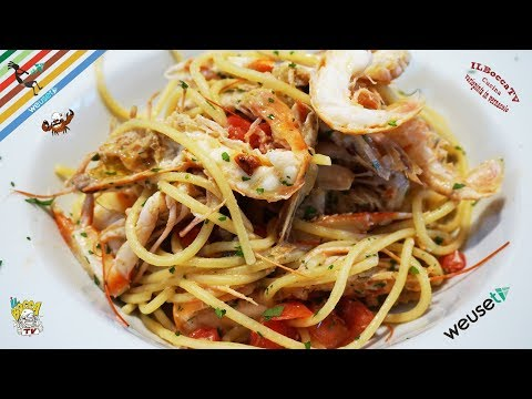 395 - Spaghetti ai crostacei freschi...anche se non te li peschi😜