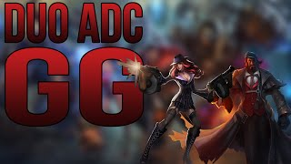 league of legends duo adc gg
