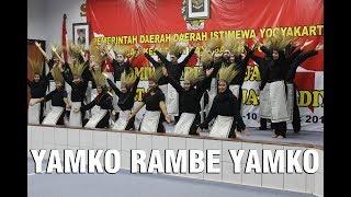 """Yamko Rambe Yamko"" Paduan Suara SMA N 2 Wonosari Juara 2 Kesbangpol DIY"