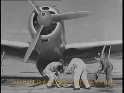 Bombardero Curtiss SB2C Helldiver.